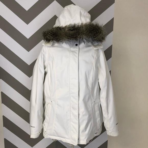 Eddie Bauer Jackets & Blazers - EB650 White Subzero Parka